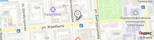 Проксима Рисерч, ТОО на карте Алматы