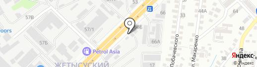 Эйпекс Групп, ТОО на карте Алматы