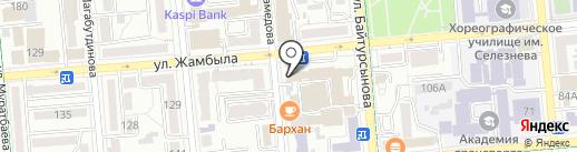 НИИ молекулярной биологии и биохимии им. М.А. Айтхожина на карте Алматы