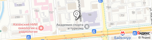 Центр медицины G.Kaami, ТОО на карте Алматы