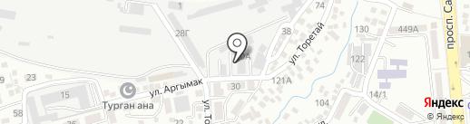 Бикен-Транс сервис, ТОО на карте Алматы