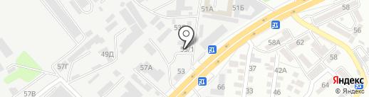 Авторазбор 53Б на карте Алматы