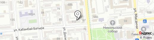 НИИ спорта им. А.С. Иванова на карте Алматы