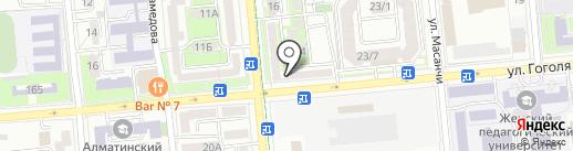 QIWI на карте Алматы
