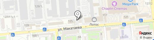 Лига Права на карте Алматы