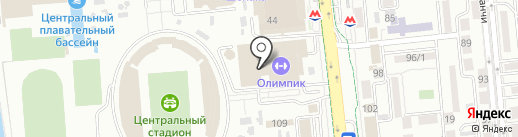 Roll papa на карте Алматы