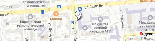 Funky на карте Алматы
