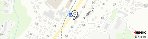 Аяу на карте Алматы