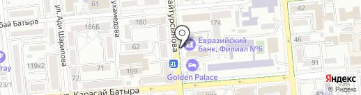 Банкомат, Евразийский банк на карте Алматы