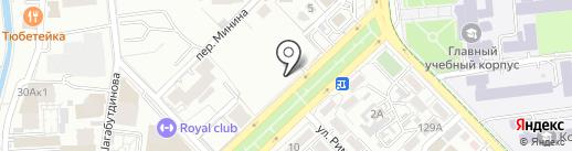 Автостоянка Ахметкалиев К. на карте Алматы