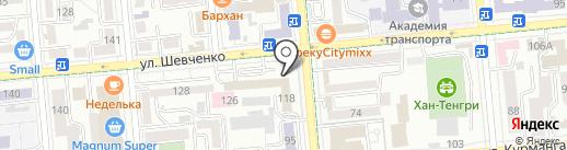 Schetovod.kz, ТОО на карте Алматы