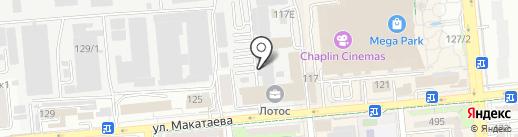 Экофуд на карте Алматы