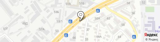 Дрон на карте Алматы