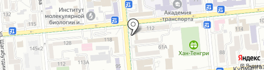 Шу-Чу на карте Алматы