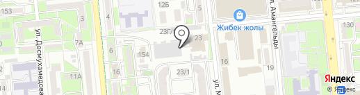 Akcent Print, ТОО на карте Алматы