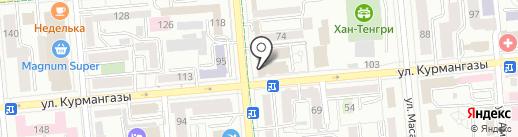 Kolyaski.kz на карте Алматы