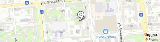 Учебно-клинического центра Министерство здравоохранения и социального развития Республики Казахстан на карте Алматы
