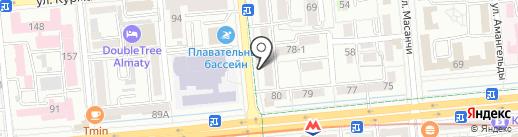 Foros Travel на карте Алматы