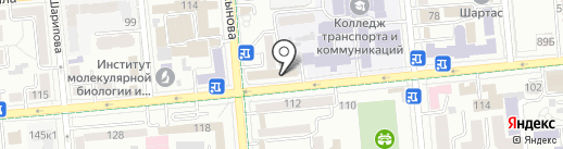 Кулинария на Шевченко на карте Алматы