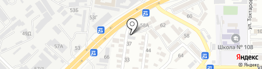Противопожарное оборудование на карте Алматы