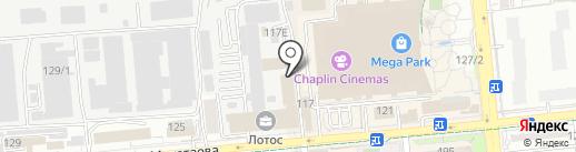 Центр занятости г. Алматы на карте Алматы