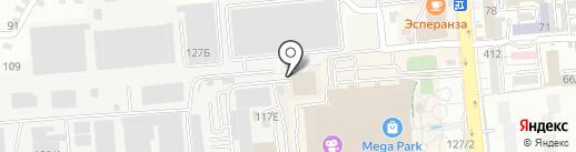 ARTXAУC на карте Алматы