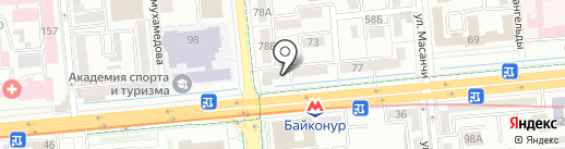 Kangnam Education на карте Алматы