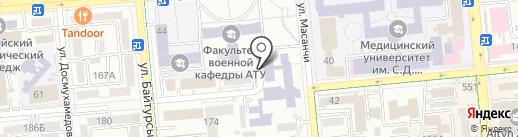 НИИ новых химических технологий и материалов на карте Алматы