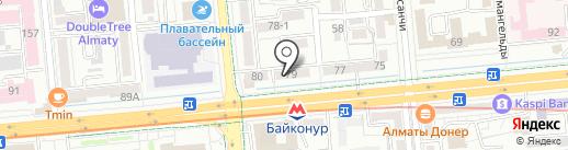 Estrena на карте Алматы