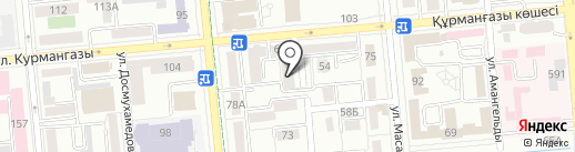 ВЕК на карте Алматы