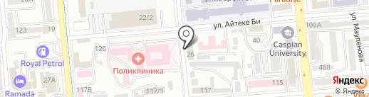 Алматинская Палата торговли и инвестиций, ТОО на карте Алматы