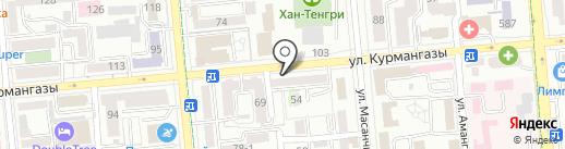 Aleksa на карте Алматы