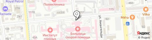 Городское патологоанатомическое бюро №7 на карте Алматы