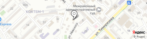 Гермес 1 на карте Алматы