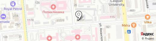 АБС Бизнес учет на карте Алматы