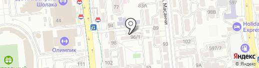 Unicum на карте Алматы