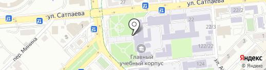 Институт базового образования им. А. Машани на карте Алматы