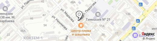 Olymp Union на карте Алматы