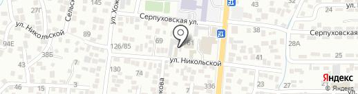O3 Gym на карте Алматы