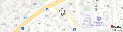 Кездесу на карте Алматы