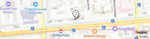 FASHIONSFERA на карте Алматы