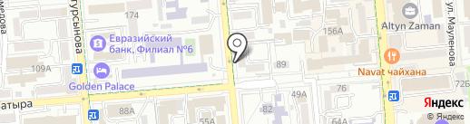 КЕРЕМЕТ ТУР на карте Алматы