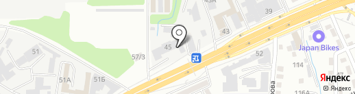Vehicle details на карте Алматы