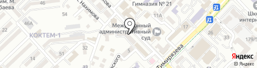 Мастерская красоты на карте Алматы
