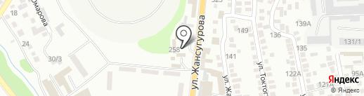 Элит Транс на карте Алматы