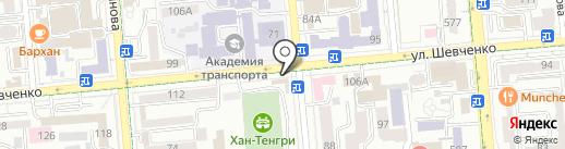 MAZZA на карте Алматы