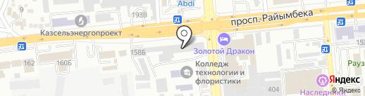 Елорда строй, ТОО на карте Алматы
