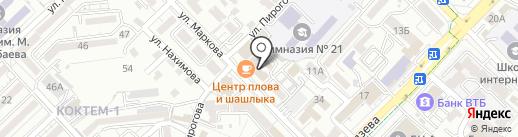 АПИ+ на карте Алматы