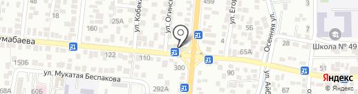Адиль на карте Алматы