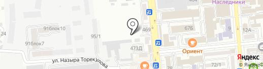 Исправительное учреждение ЛА-155/1 на карте Алматы